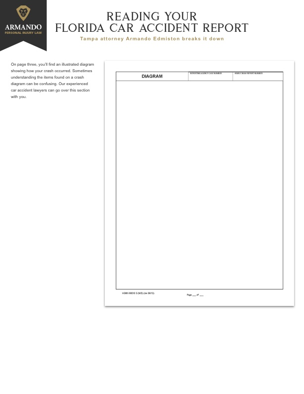 Florida car accident report page 3