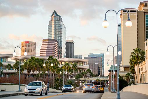 Tampa downtown, Florida, USA